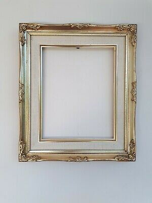 £6 • Buy Vintage Rococo Baroque Gold Gilt Wooden Picture Frame 8  X 10  Picture