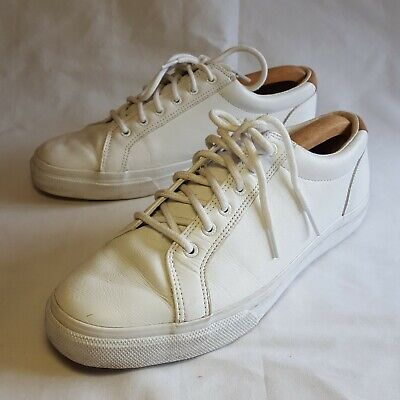 £19.95 • Buy Sperry Top Sider Mens White Trainers Shoes Leather Size UK 11 US 12M