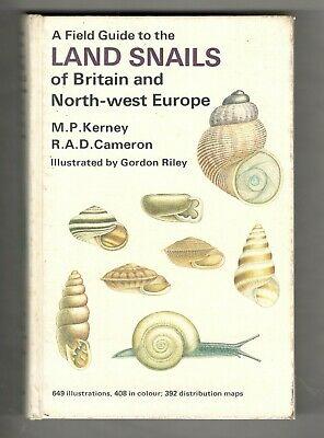 £12.50 • Buy A Field Guide To Land Snails Of Britain & Northern Europe By Kerney & Cameron
