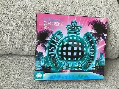 £0.99 • Buy Ministry Of Sound Electronic 80s Anthems 3 Cds Bowie Soft Cell Kate Bush Visage