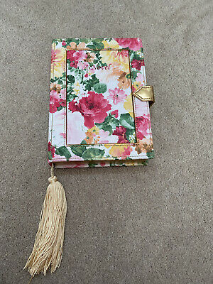 £8 • Buy Ladies Asos Novelty Quirky Book Floral Clutch Bag