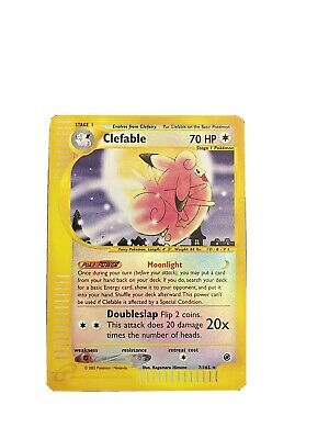 $5 • Buy Clefable 7/165 Expedition E-Reader Reverse Holo Pokemon Card TCG NM/MT
