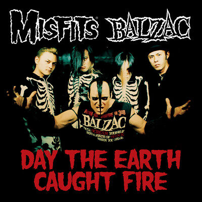 £4.99 • Buy Misfits & Balzac - Day The Earth Caught Fire Cd Ep (22nd Oct) Presale