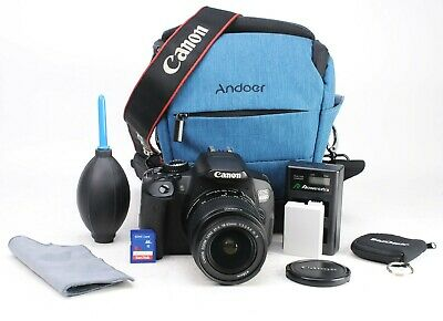 £249.99 • Buy Canon EOS 650D DSLR Camera + Canon EF-S 18-55mm IS II Lens Kit Battery & Charger