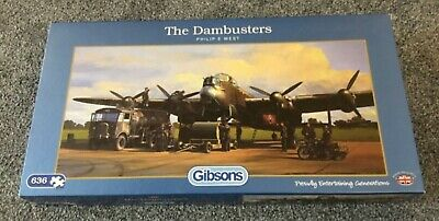 £1.90 • Buy Gibsons The Dambusters Jigsaw Puzzle. Used. 636 Pieces