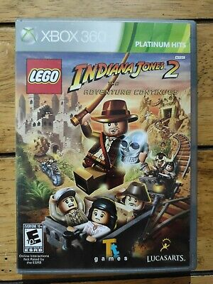 £4.99 • Buy LEGO Indiana Jones 2 The Adventure Continues Xbox 360, NTSC, FAST FREE POSTAGE