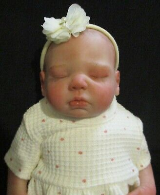 £60 • Buy Reborn Doll With Painted Hair 18 Inches Zoe