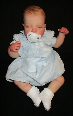 £60 • Buy Reborn Doll With Painted Hair 18 Inches Luca