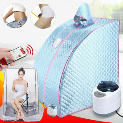 £79 • Buy 2L Steam Sauna Spa Room Home Room Full Body Slimming Detox Therapy Tent & Chair