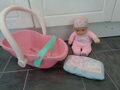 £15.95 • Buy Baby Annabell Bundle-newborn Rattle Doll,my 1st Doll+car Seat ,bottle And Pillow