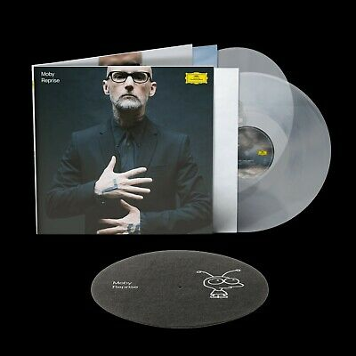 £68.51 • Buy MOBY REPRISE LP Deluxe Edition CLEAR Colored Vinyl LTD Inkl Slipmat NEW SEALED