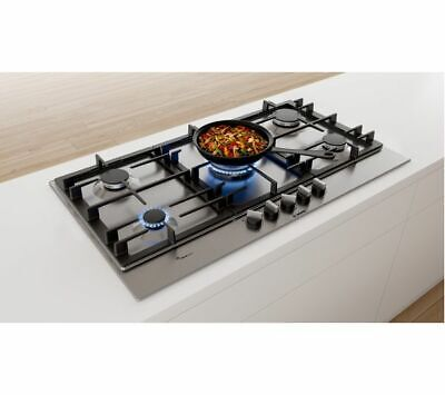 £515 • Buy BOSCH Serie 6 PCR9A5B90 Gas Hob - Stainless Steel