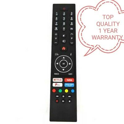£5.25 • Buy New High Quality Replacement Remote Control For Logik Smart TV Model : L32SHE19