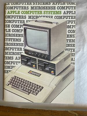 £4.99 • Buy Apple II 34 Page Products Manual