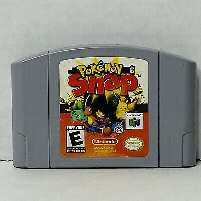 $24.95 • Buy Nintendo 64 N64 Pokemon Snap Authentic Console Game Cartridge Cart Tested