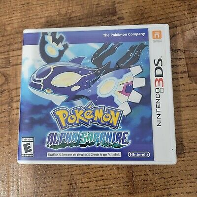 $30 • Buy Pokemon: Alpha Sapphire (3DS, 2014) Tested