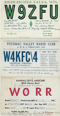 £5.76 • Buy United States - Small Lot Qsl Cards #5 Amateur Radio