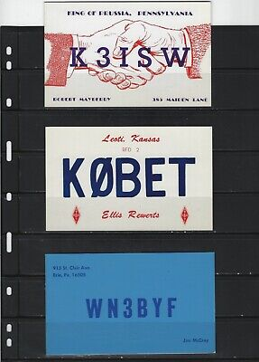 £6.91 • Buy United States - Small Lot Qsl Cards Amateur Radio