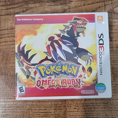 $34 • Buy Pokemon Omega Ruby (3DS, 2014) Complete - Tested