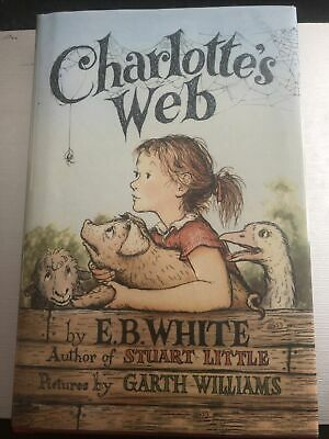 £1.90 • Buy Charlotte's Web By E. B. White. Hardback Book With Clear Plastic Cover.