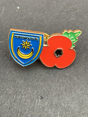£4 • Buy Portsmouth Fc Pin Badge Remembrance