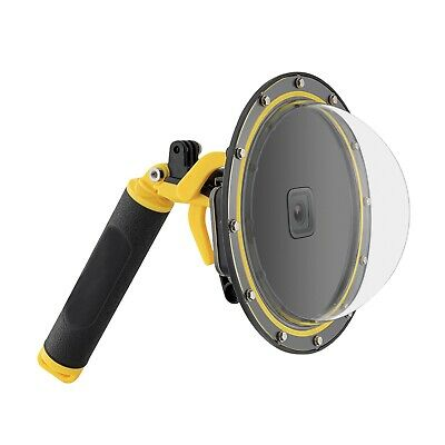 AU66.99 • Buy TELESIN Dome Port Underwater Diving Camera Lens Cover Fits For GoPro Hero9 10 A