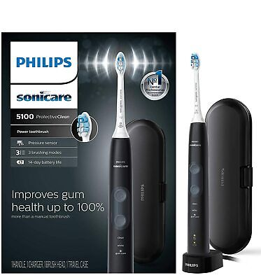 AU99.86 • Buy Philips Sonicare ProtectiveClean 5100 Gum Health Rechargeable Toothbrush HX6850