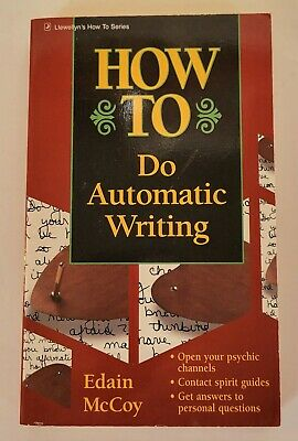 £15.94 • Buy Vintage How To Do Automatic Writing By Edain McCoy (1997, Paperback) 1st Edition