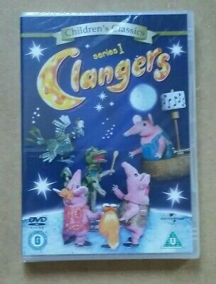 £4.99 • Buy Clangers - Series 1 - 1969 Children's Classic Animated (DVD) NEW & SEALED