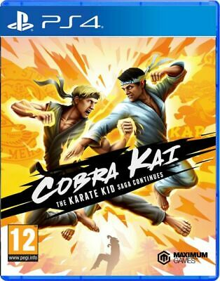 AU45.70 • Buy Cobra Kai The Karate Kid Saga Continues Playstation 4 PS4 EXCELLENT Condition