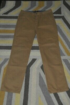 £10 • Buy Girls M&s Tan Chinos Trousers Size 14 Years