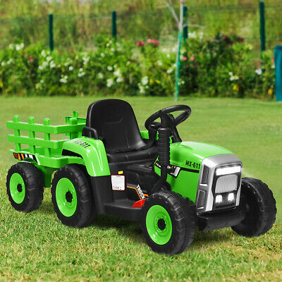 £165.99 • Buy 12V Kids Ride On Tractor Baby Multipurpose Electric Toy Car W/ LED Light & Music
