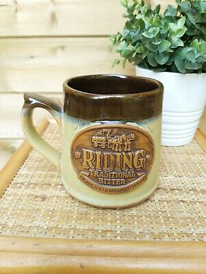 £9.50 • Buy The Mansfield Brewery Company Riding Trad. Bitter Earthernware Mug Man Cave Bar