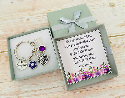 £4.99 • Buy HAPPY BIRTHDAY Gifts Charm Keyring 12th 13th 18th 21st 30th 40th Gift For Her