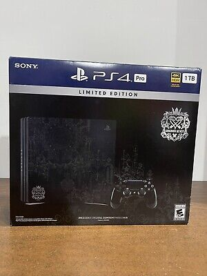 AU202.03 • Buy Rare PlayStation 4 PS4 Pro Kingdom Hearts 3 Limited Edition USA - EMPTY BOX ONLY
