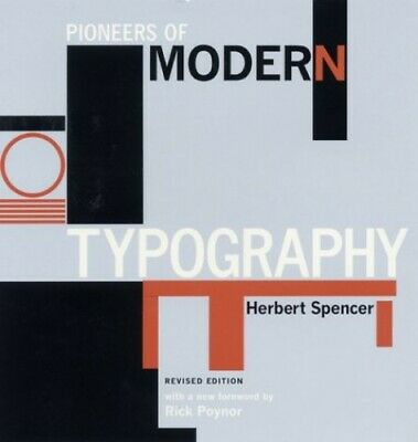£28.99 • Buy Pioneers Of Modern Typography By Herbert Spencer Paperback Book The Cheap Fast