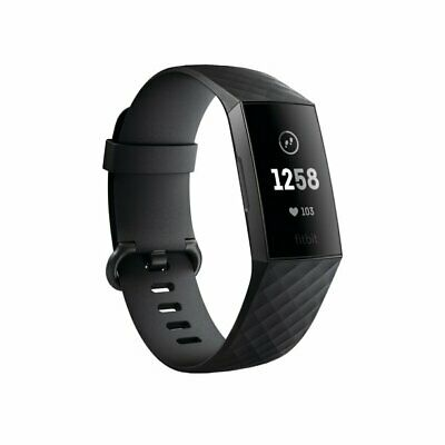 $69.99 • Buy Fitbit Charge 3 Fitness Activity Tracker Heart Rate Monitor Watch