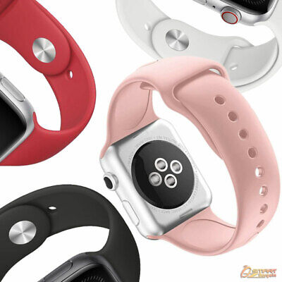 AU7.99 • Buy Silicone Tpu Sport Band For New Apple Watch Series 7 6 5 4 38 - 41mm  42 - 45mm