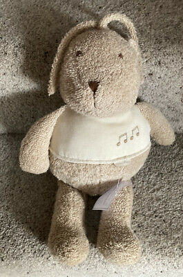 £9.99 • Buy Mamas & And Papas Vintage Teddy Bear Soft Toy 🧸 Musical