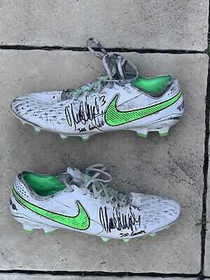 AU850 • Buy Match Worn 2021 Marc Murphy Carlton Used Signed Boots .  Comes With Coa 🔥🔥