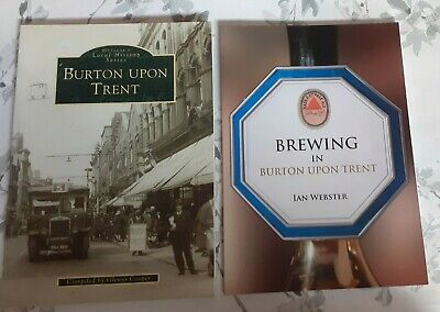 £9.99 • Buy Job Lot X 2 Books Brewing In Burton Upon Trent + Local History Glenys Cooper