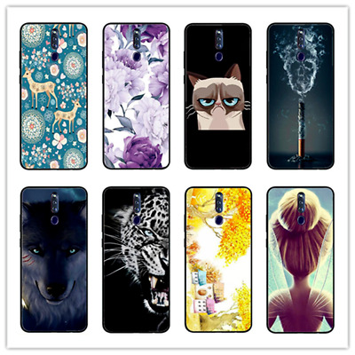 AU7.40 • Buy For OPPO F11 PRO Case, Slim Matte Black Soft Silicone Gel TPU Phone Cover
