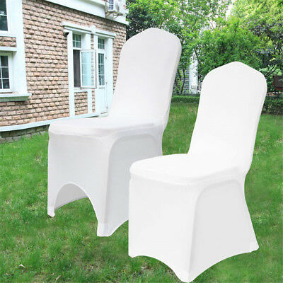 £168.99 • Buy Chair Covers For Dining Room | Flat Arched | Party Wedding Banquet Stretch Fit