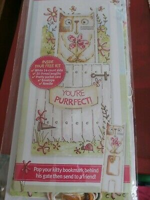 £2.50 • Buy 2 In 1 Bookmark & Card= Small Cross Stitch Kit#30