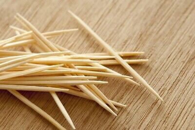£2.09 • Buy 100x Wooden Toothpicks Cocktail Sticks | Disposable Party Buffet Food 🍡🍢