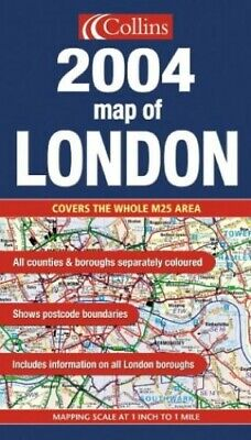 £7.99 • Buy 2004 Map Of London By Not Known Sheet Map, Folded Book The Cheap Fast Free Post