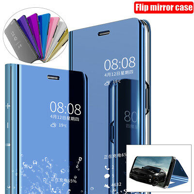 AU11.99 • Buy For IPhone 13 12 11 Pro Max Mini XS XR 8 Plus Mirror Luxy Flip Case Stand Cover