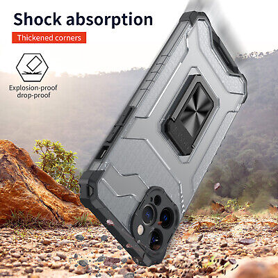 AU3.99 • Buy Shockproof Clear Case For IPhone 12 11 Pro Max XR X XS 7 8 SE 7 8 PLUS Cover