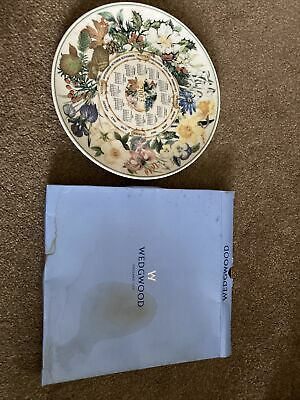 £5 • Buy Wedgwood Queens Ware Daily Mail Plate Calendar Plate 2003