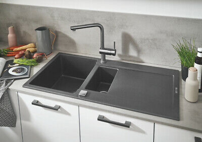 £165 • Buy R200 Grohe Minta Single Lever Kitchen Sink Mixer Tap 30274000